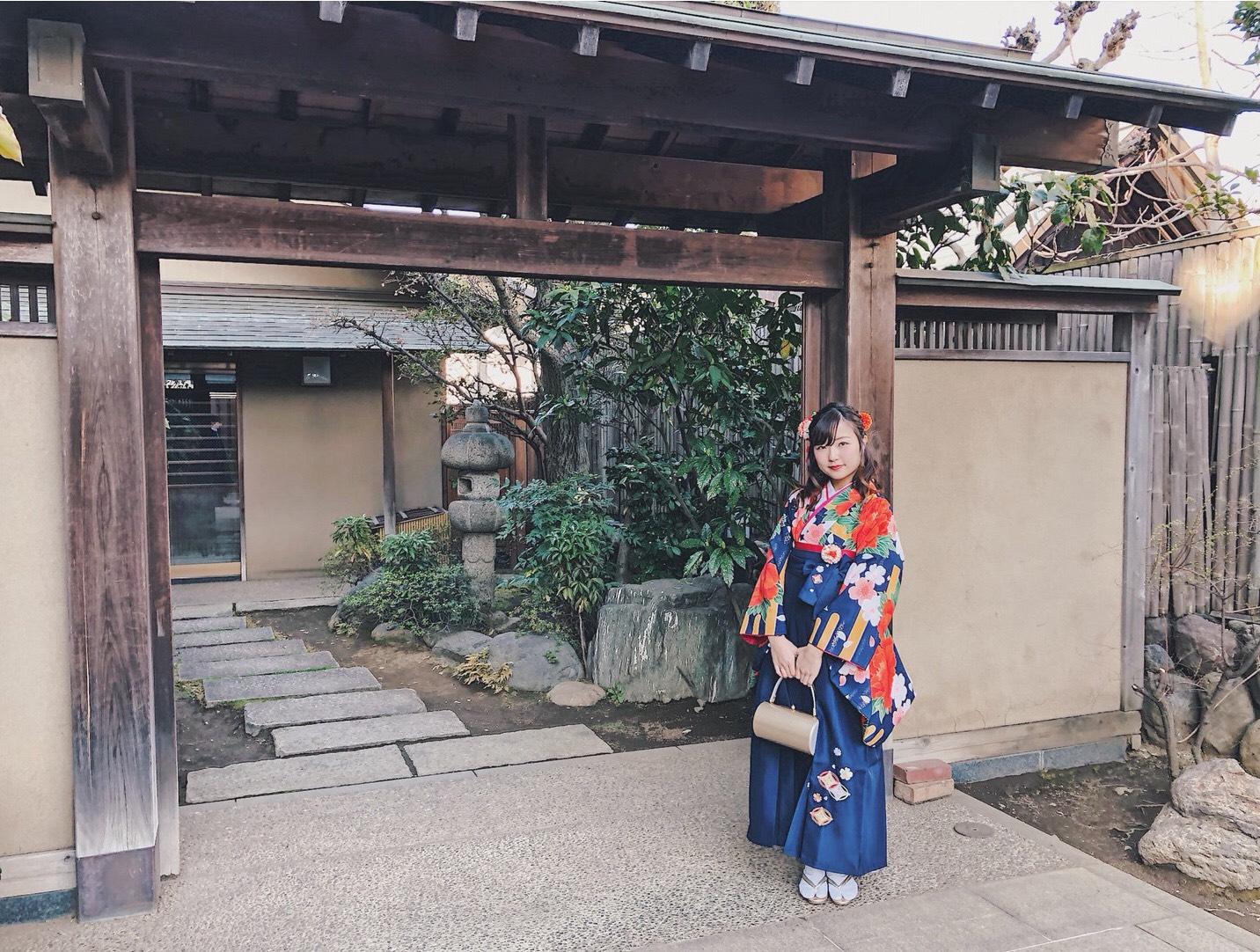 【袴】とてもかわいい袴でした!