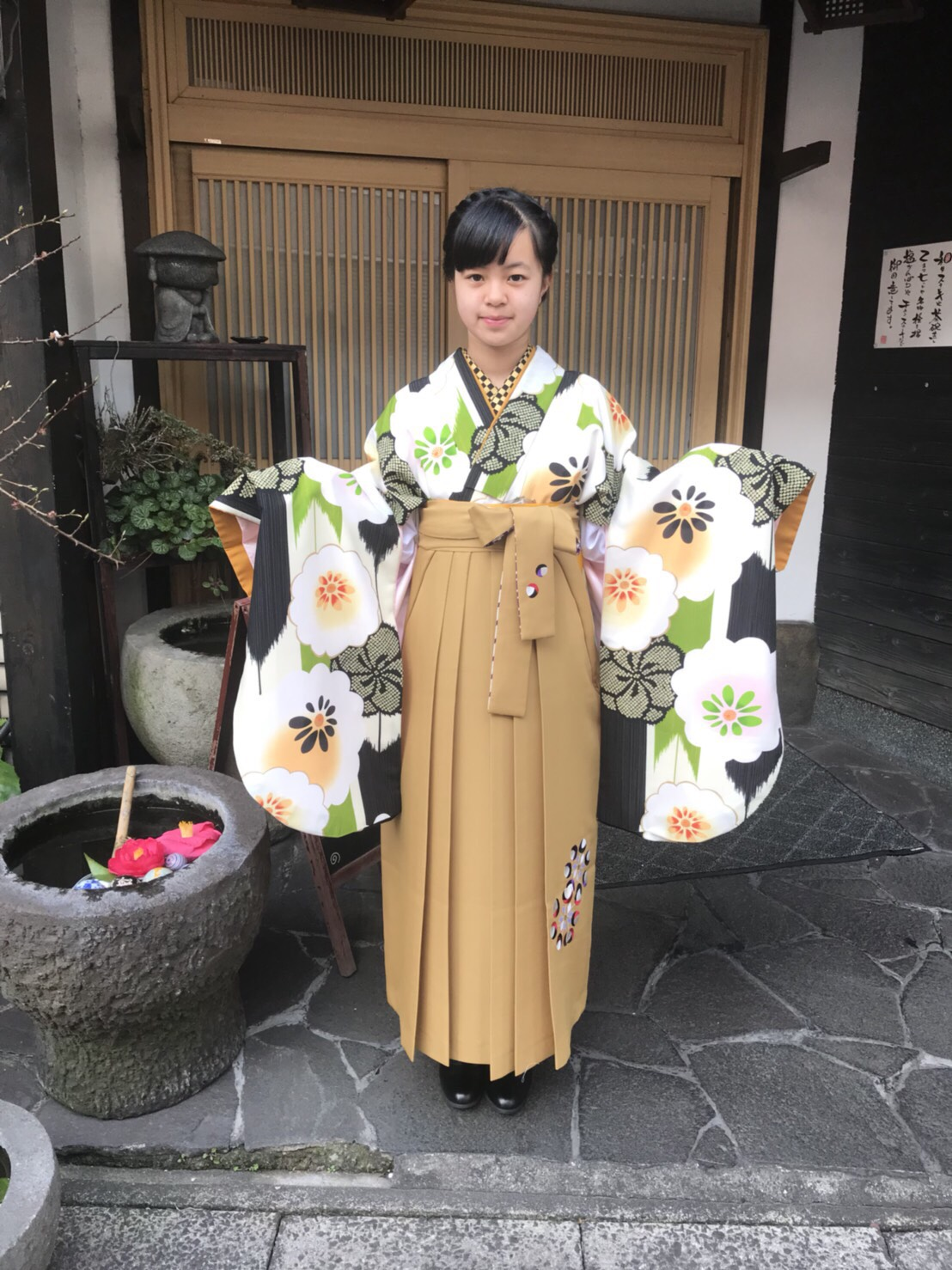 【袴】とっても可愛い袴でした