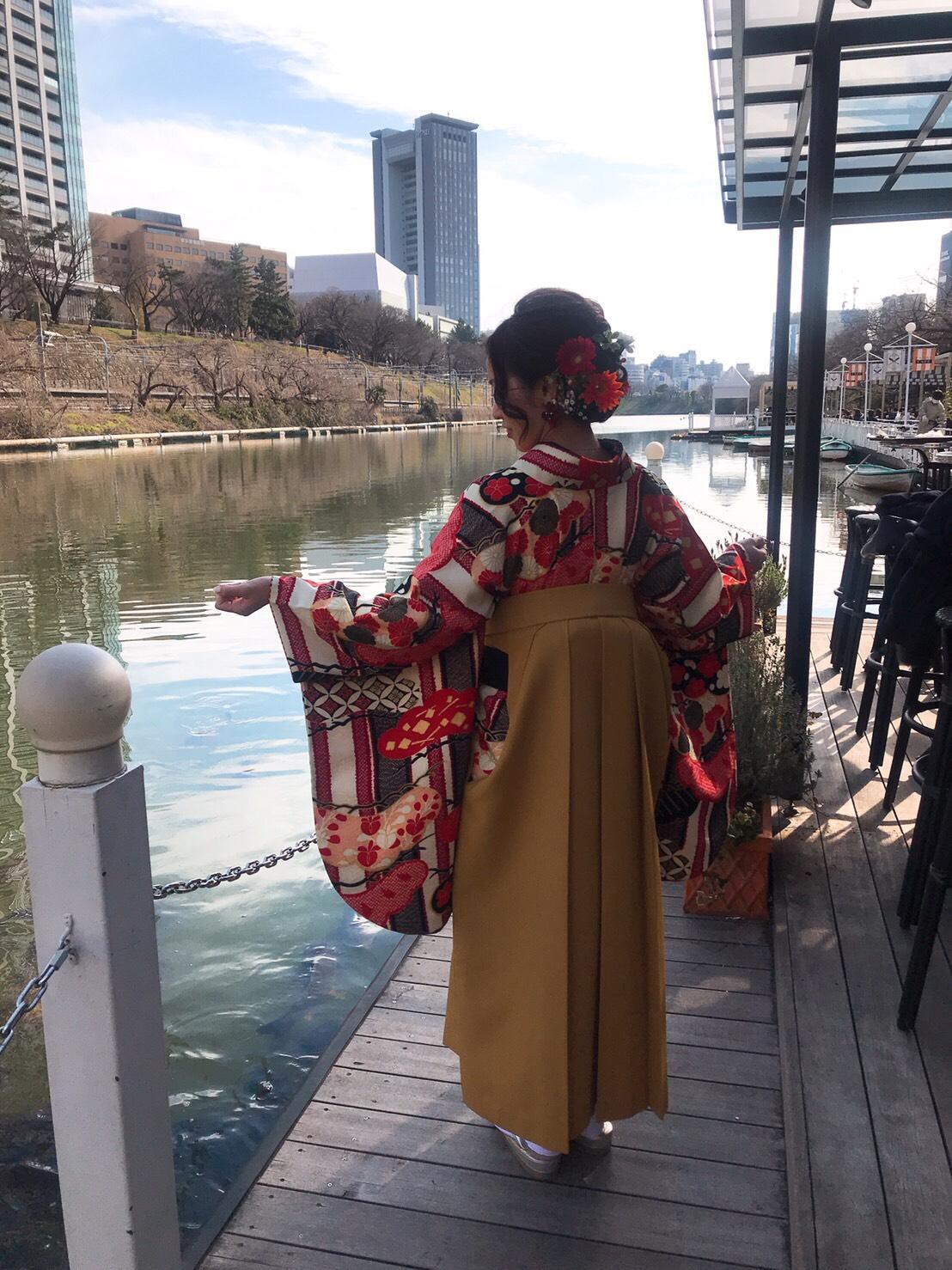 【袴】満足のいく一日が過ごせてよかったです