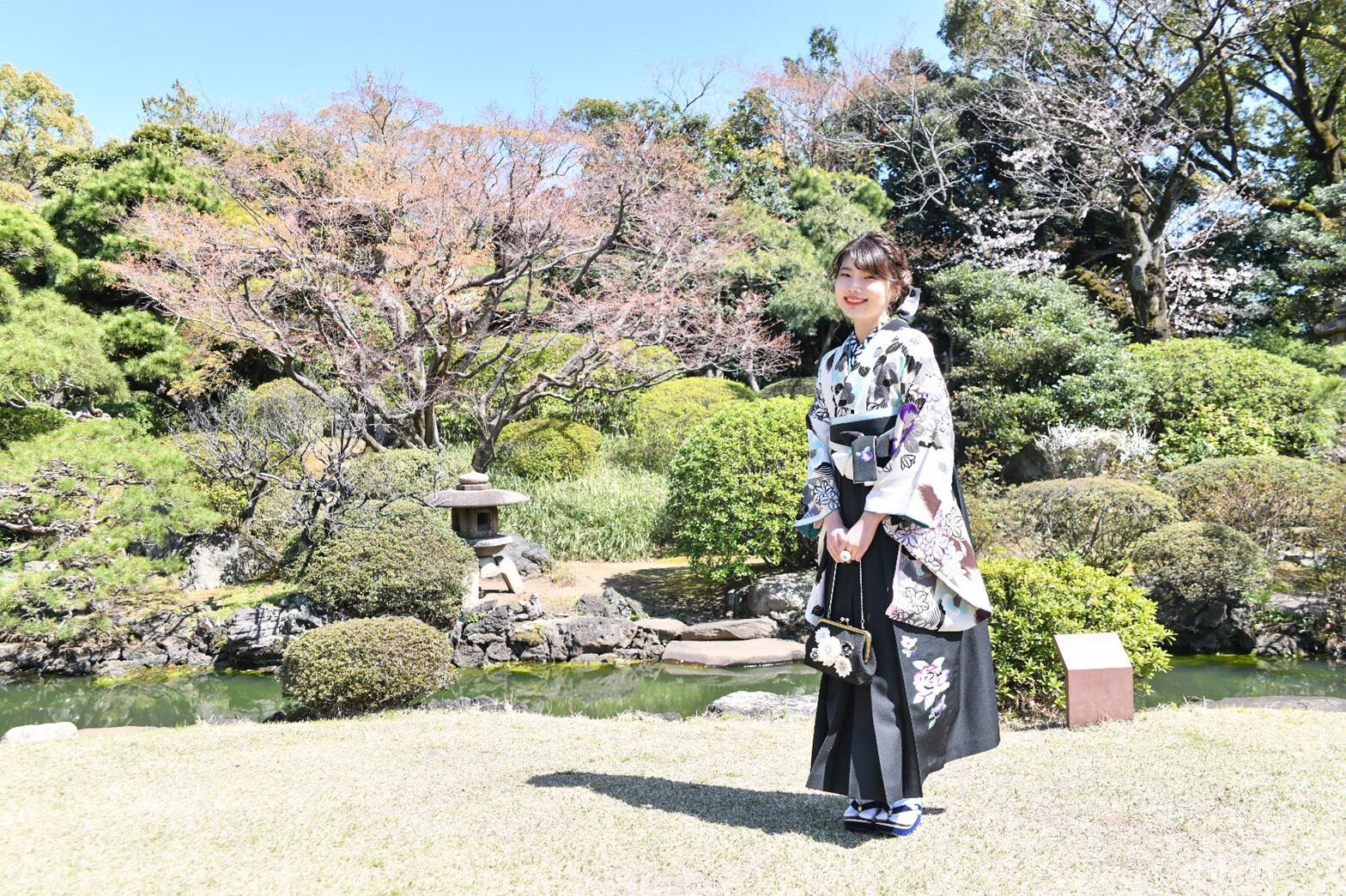 素敵な袴を着ることができていい思い出になりました!